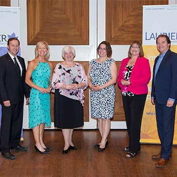 Laurier Society Philanthropy Award Recipients