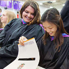 Laurier and prominent business alumni send-off spring Lazaridis School graduates