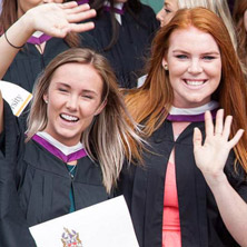 See #Laurier2016 stories from spring convocation